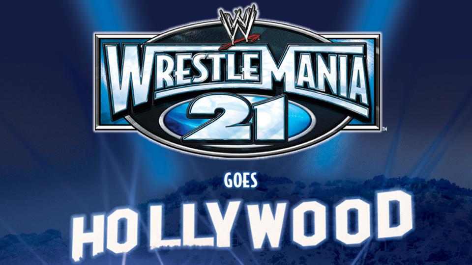 Image result for WrestleMania 21 poster