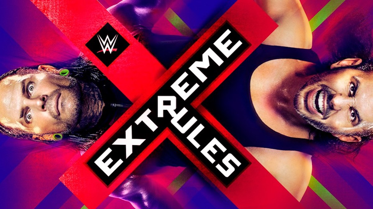 Wwe Extreme Rules Results June 4  Way Match