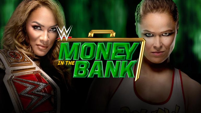 Resultado de imagen para WWE Money in the Bank POSTER 2018