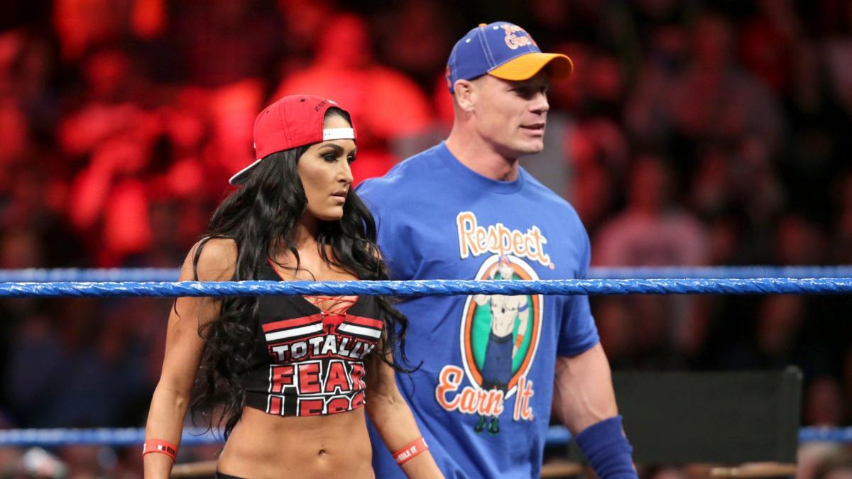 John Cena And Nikki Bella Spotted Together Cena Jokes About