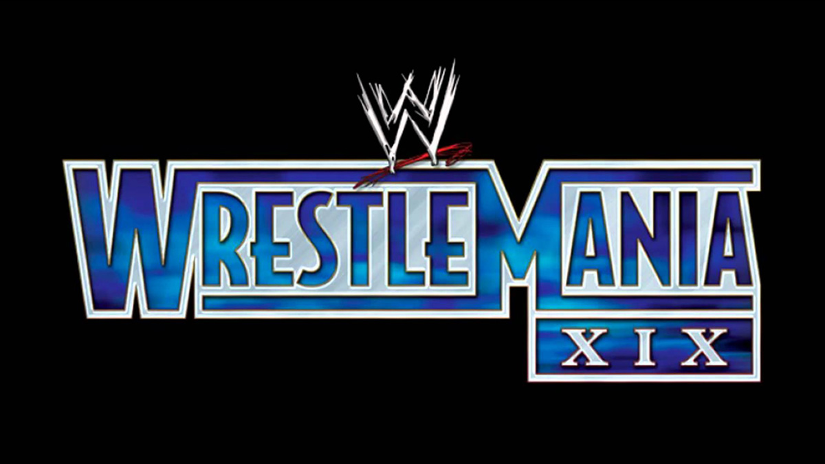 WWE WrestleMania 19 Results – March 30, 2003 – Angle vs. Lesnar – TPWW