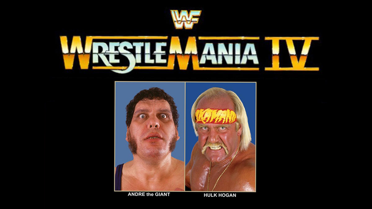 Image result for WrestleMania 4 Poster