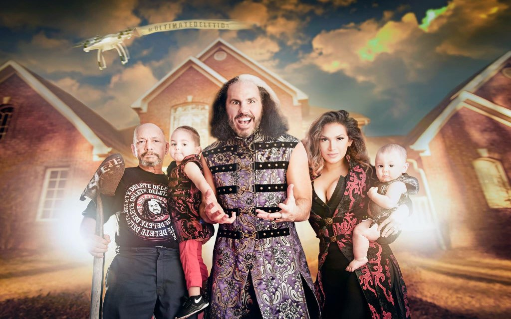 Image result for Pilot For WWE Network Show Featuring Woken Matt And Hardy Family To Film Next Month