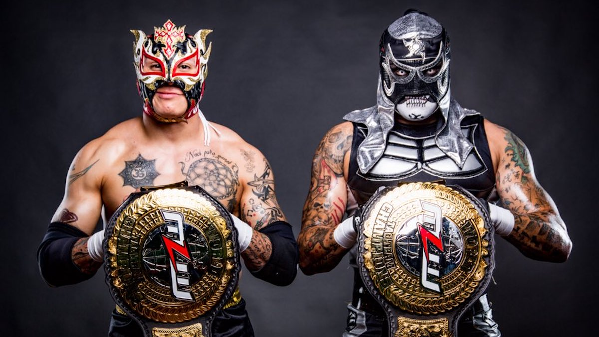 Image result for Pentagon Jr. and Fenix