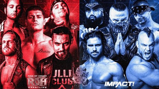 Bullet Club vs. Impact Match Announced for Chris Jericho's Cruise
