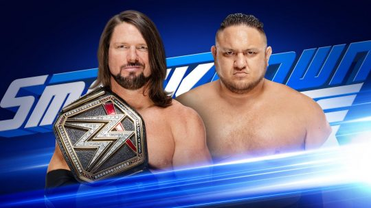 WWE SmackDown Results - Sep. 25, 2018 - AJ/Joe, Nakamura vs. Dillinger