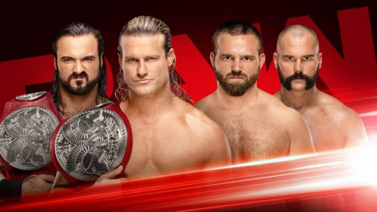 WWE Raw Results - Sep. 24, 2018 - Shield vs. Corbin/AOP, Ziggler/McIntyre vs. Revival