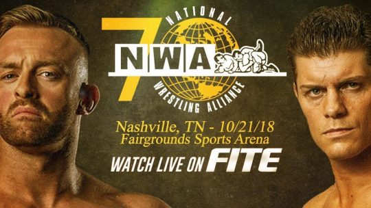 NWA 70th Anniversary Results - Oct. 21, 2018 - Cody vs. Aldis