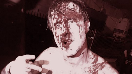 "David Arquette Gets Cut Badly in Insane, Violent ""Death Match"" (Videos)"