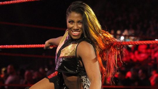 Ember Moon Out With a Torn Achilles