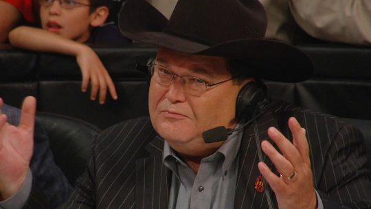 "Jim Ross Gets Bloodied After Taking ""Bad Bump"" (Graphic Photo)"