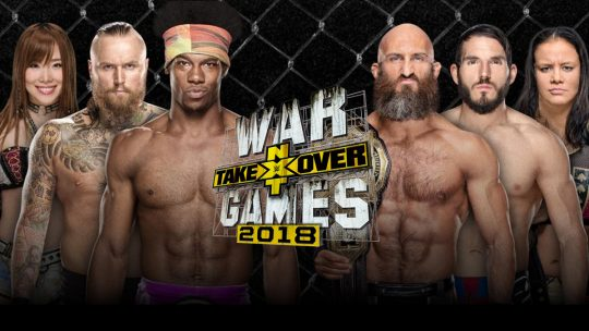 NXT TakeOver: WarGames II Results - Nov. 17, 2018 - Ricochet, Dunne, War Raiders vs. Undisputed Era