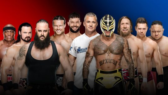 Updated Survivor Series Card After Raw (Raw Teams Finalized)