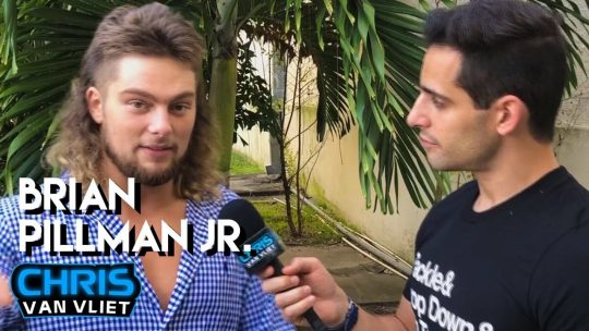 Interview: Brian Pillman Jr. on Pillman Gun Segment, Following in His Father's Footsteps, More
