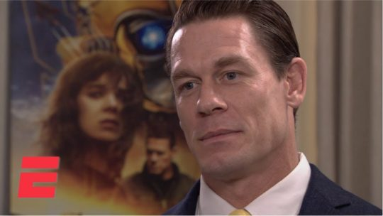 John Cena Talks About Not Being Allowed to Wrestle While Shooting Movies
