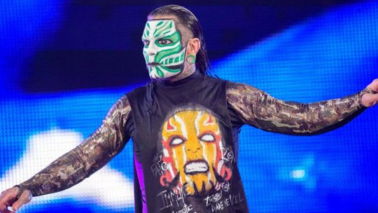 Jeff Hardy Backstage at SmackDown, Close to Return