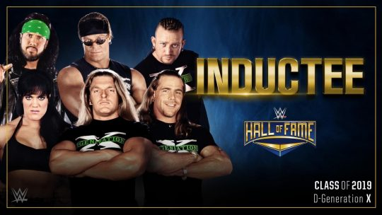 D-Generation X Will Be Inducted Into the WWE Hall of Fame