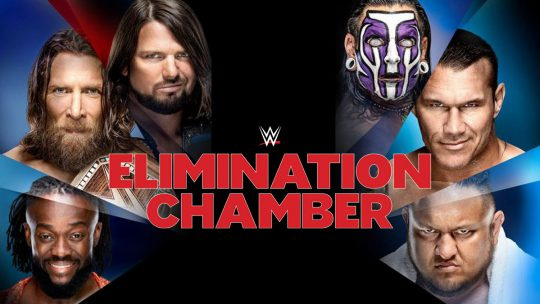 WWE Elimination Chamber Results - Feb. 17, 2019 - Bryan/AJ/Hardy/Kofi/Orton/Joe