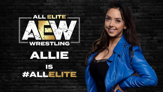 AEW Signs Former Impact Knockouts Champion Allie