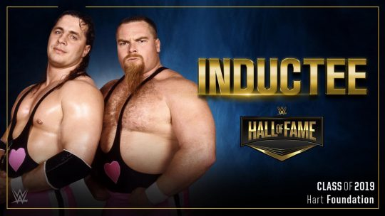 The Hart Foundation Will Be Inducted Into the WWE Hall of Fame