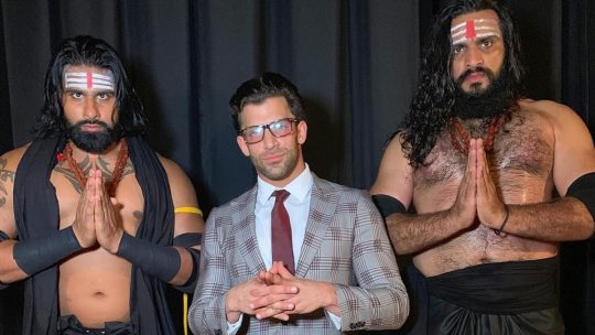 Robbie E Debuts for NXT as a Manager