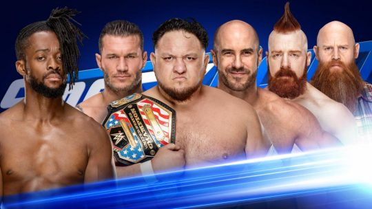 WWE SmackDown Results - Mar. 19, 2019 - Gauntlet Match