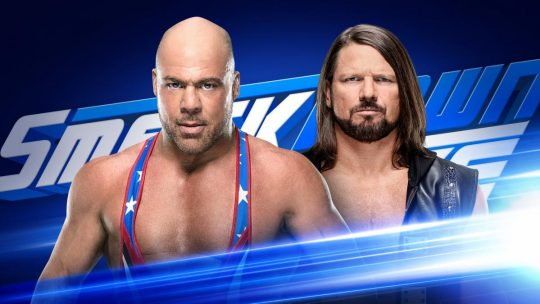 Kurt Angle vs. AJ Styles Announced for SmackDown as Angle's Final SD Match