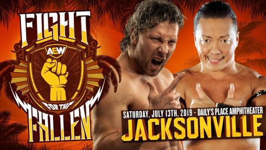 "Kenny Omega Says WWE Is ""Trying to Undermine"" AEW Fight for the Fallen Charity Show"
