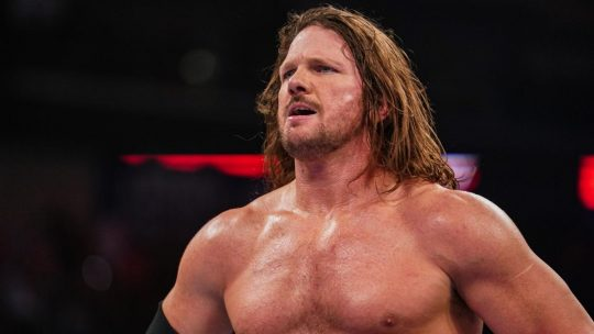 AJ Styles Injured at the Royal Rumble