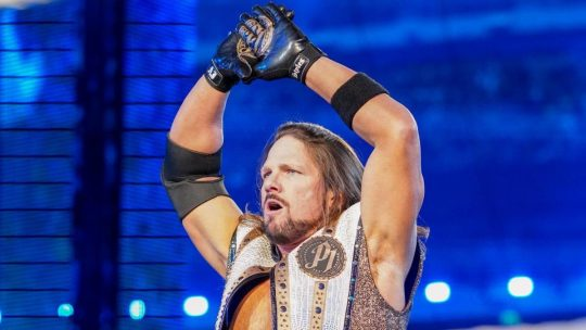 AJ Styles Says That He's Signed His Last Contract
