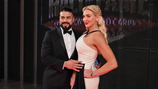 Charlotte Flair Denies Rumors That She's Engaged to Andrade