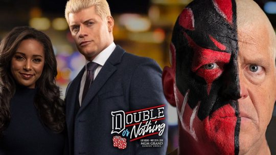Cody vs. Dustin Rhodes Announced for AEW Double or Nothing