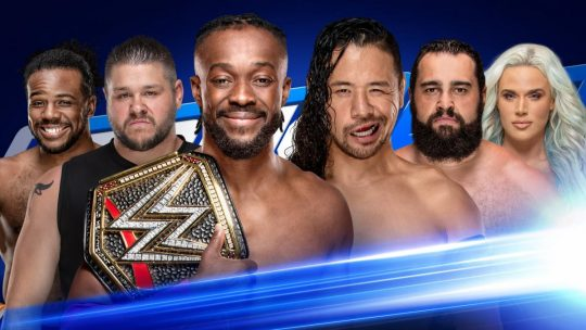 WWE SmackDown Results - Apr. 23, 2019 - Kofi Kingston vs. Shinsuke Nakamura