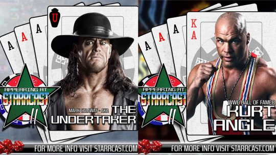 WWE Pulls The Undertaker and Kurt Angle From Starrcast Wrestling Convention