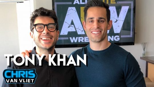 """Interview: AEW Owner Tony Khan on AEW's 5-Year Plan, If AEW Will Be """"Edgy,"""" WCW Comparisons"""