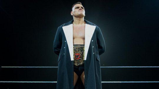 WWE UK Championship Belt Stolen