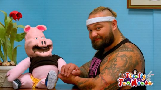 Ramblin' Rabbit and Huskus the Pig Boy Were on Tonight's SmackDown