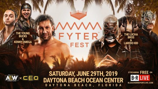 New Match Added to AEW Fyter Fest + Lucha Bros Mystery Partner Revealed