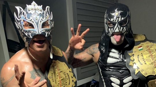 The Lucha Bros Win the AAA Tag Team Titles From the Young Bucks
