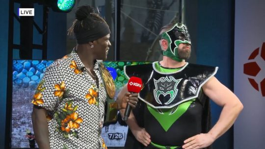 """WWE: The Hurricane Tries to Win 24/7 Title, Isaiah """"Swerve"""" Scott on 205 Live"""