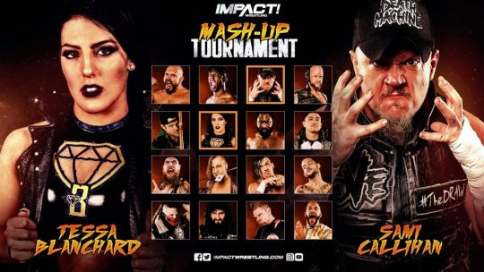 Impact Results - July 19, 2019 - Mash-Up Tournament
