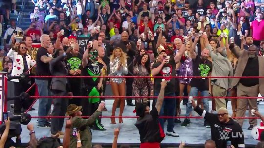 WWE: Last Minute Changes at Raw Reunion, Main Event Results, After Raw