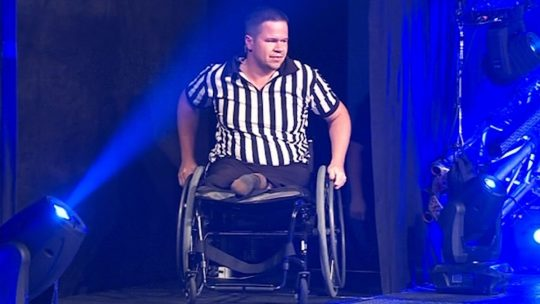 Impact: Upcoming TV Tapings Schedule, Referee With No Legs