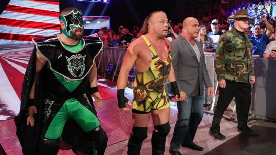 More on Rob Van Dam Appearing on Raw Reunion While Under Impact Contract