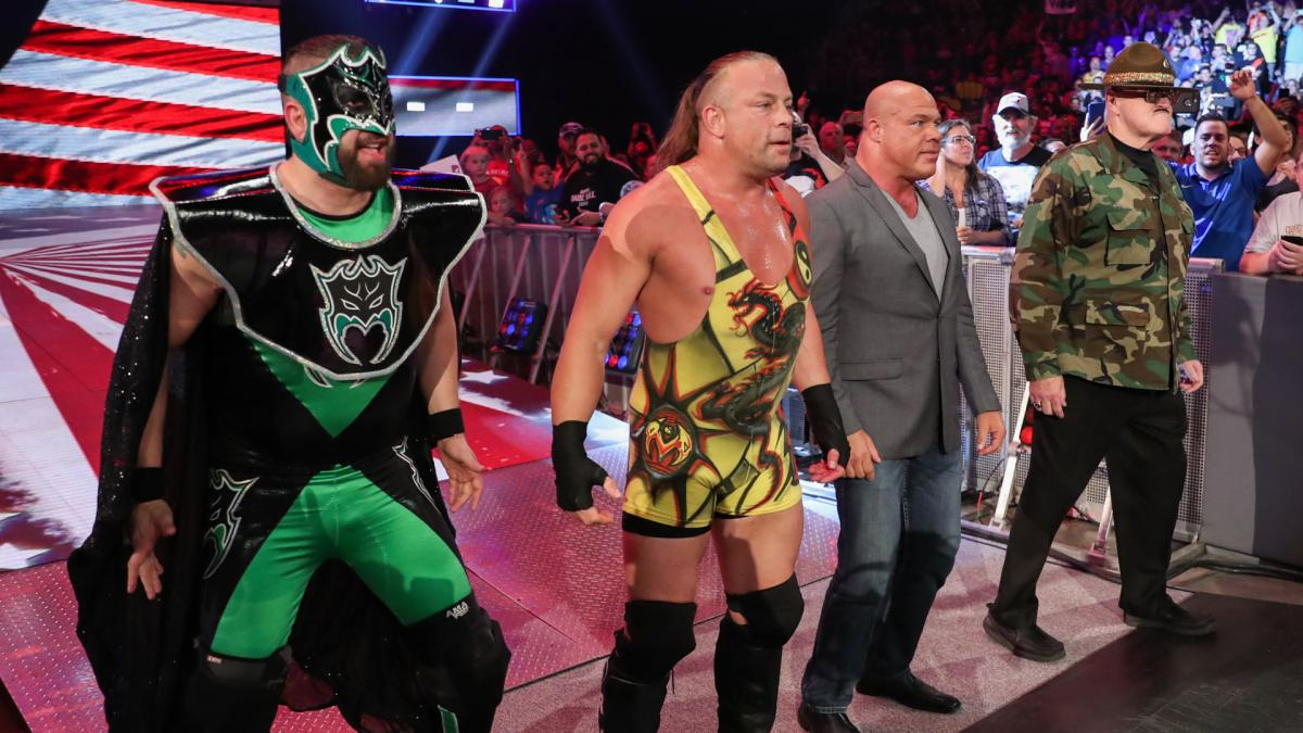 More on Rob Van Dam Appearing on Raw Reunion While Under