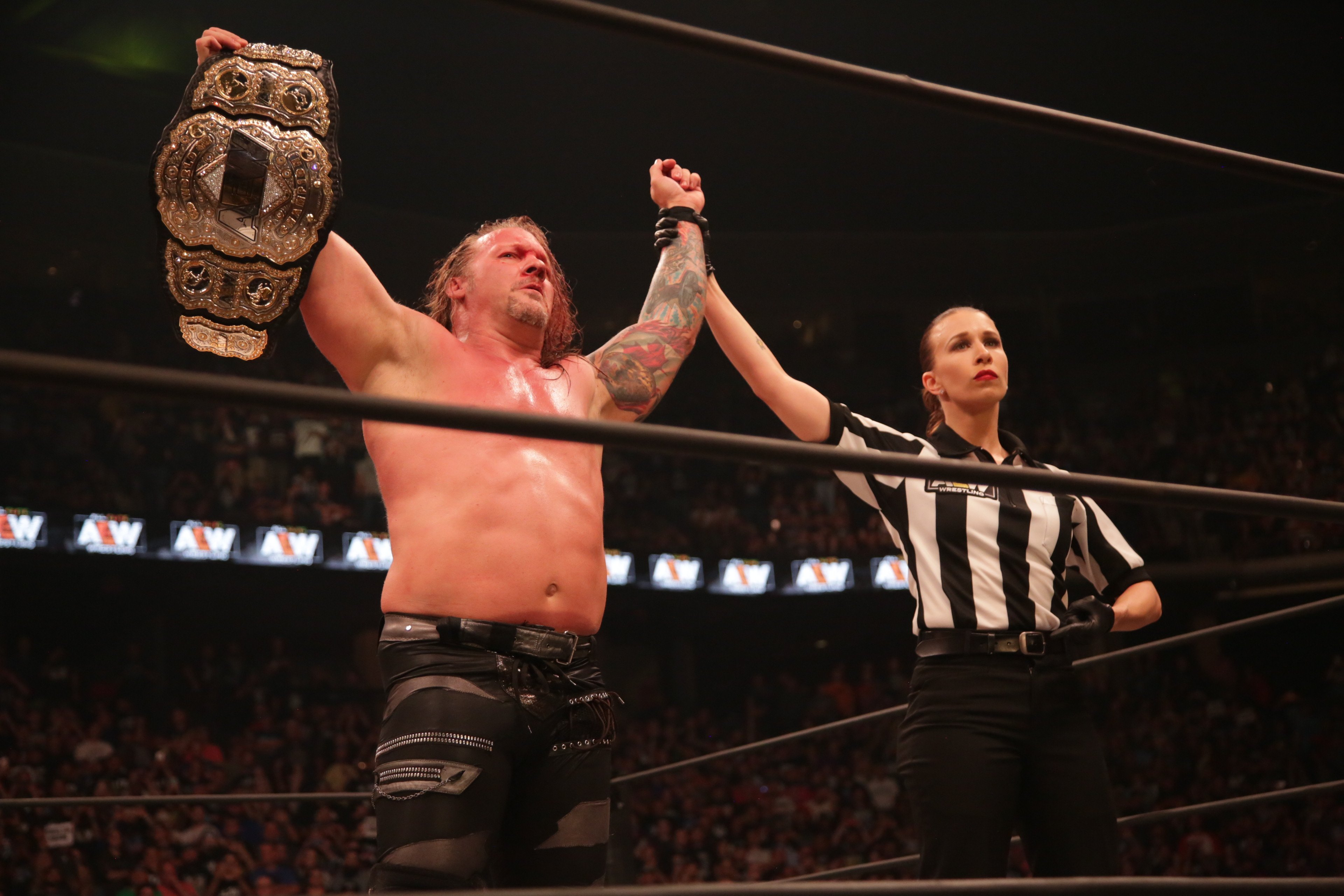 AEW All Out Post-Show: Chris Jericho Celebrates, PAC ...