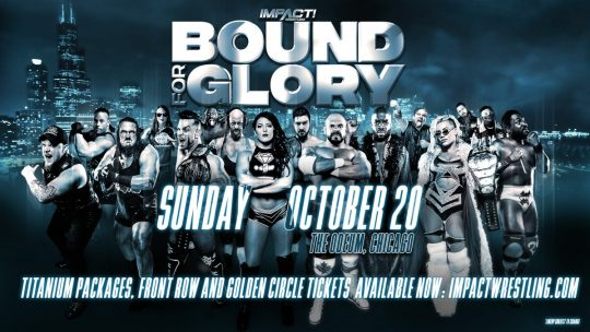 Impact Bound for Glory Results - Oct. 20, 2019 - Cage vs. Callihan