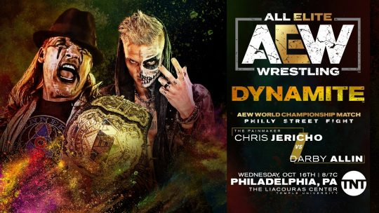 AEW Dynamite Results - Oct. 16, 2019 - Jericho vs. Allin, Omega/Page vs. Moxley/Pac