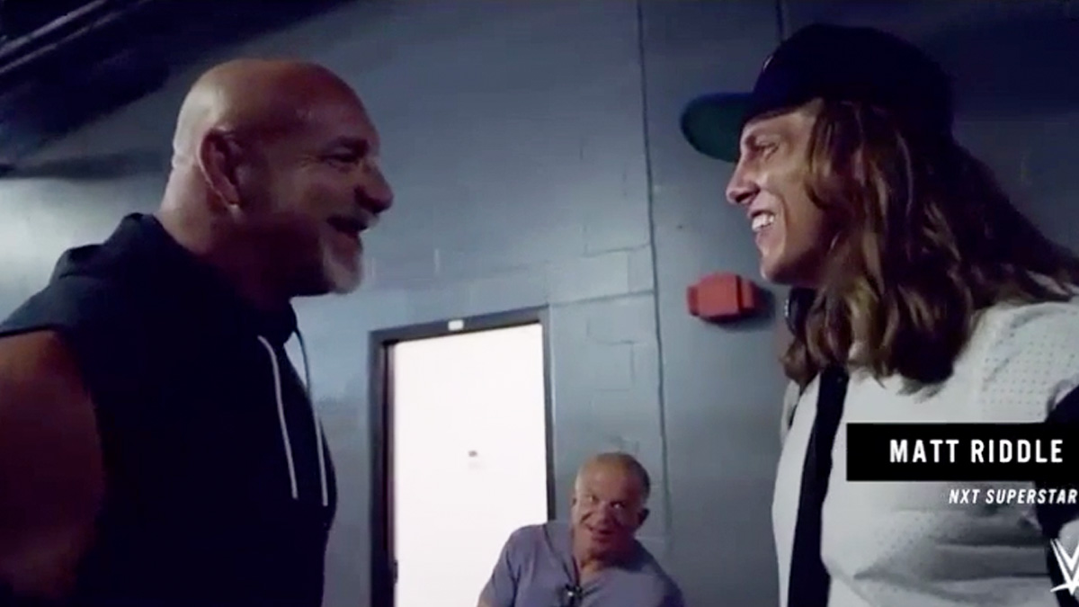 Watch Goldberg's Altercation With Matt Riddle Backstage at SummerSlam  (Video) – TPWW