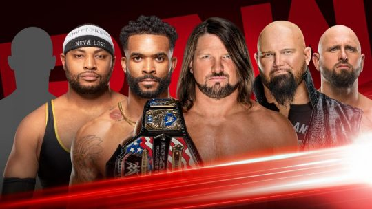 WWE Raw Results - Oct. 21, 2019 - Street Profits vs. The O.C.